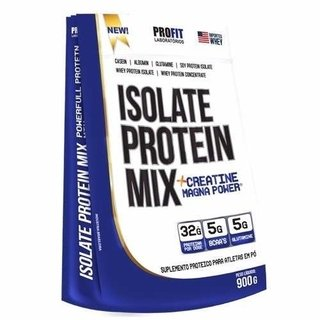 Isolate Protein Mix + Creatine Magna Powder (900g) - Profit - comprar online
