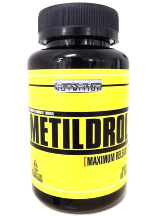 Metildrol (60 cápsulas) - Chrome Nutrition