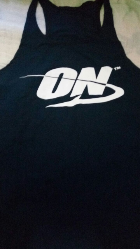 Camiseta regata cavada - Optimum Nutrition na internet