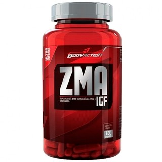 ZMA IGF (120 cápsulas) - BodyAction