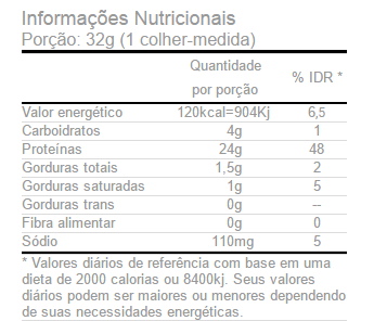 Whey Gold Isolado Optimum Nutrition Tabela Nutricional