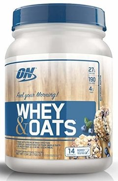 WHEY & OATS X 1,54LBS - OPTIMUN NUTRITION