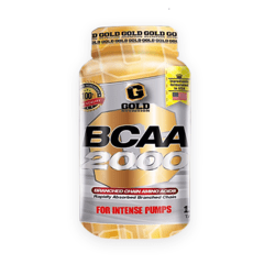 BCAA 2000 120 TAB GOLD NUTRITION