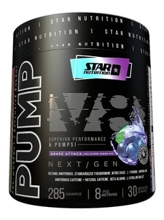 PUMP V 8  ( 30 SERVCIOS) STAR NUTRITION