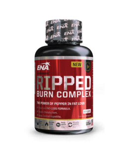 RIPPED BURN COMPLEX X 60 CAPS - ENA SPORT NUTRITION
