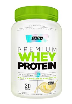 PREMIUM WHEY PROTEIN BANANA X 1 KGRS - STAR NUTRITION