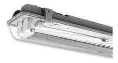 Liston Plafon Artefacto Estanco 2 Tubos Led 18w Ip65 120cm