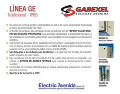 Imagen de Gabinete Metalico Estanco Ip65 Tradicional 250x200x120mm