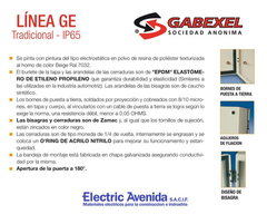 Imagen de Gabinete Metalico Estanco Ip65 Tradicional 300x300x160mm