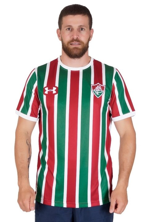 CAMISA FLUMINENSE TRICOLOR UNDER ARMOUR I 17/18 S/Nº TORCEDOR