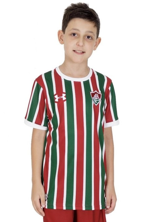 Camisa Fluminense Tricolor Infantil Under Armour