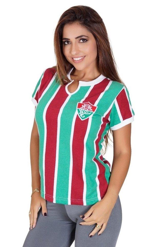 Camisa Feminina Fluminense 1976 Liga Retrô 4598f17ce5580