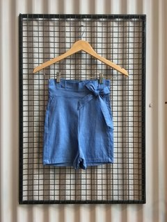S003 SHORT HOUSTON BENGALINA DENIM - comprar online