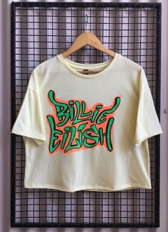 R047/1 REMERA BILLIE EILISH ALGODON en internet