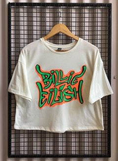 R047/1 REMERA BILLIE EILISH ALGODON