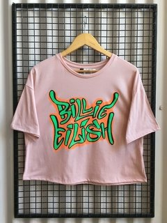 R047/1 REMERA BILLIE EILISH ALGODON - comprar online
