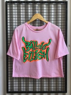 R047/1 REMERA BILLIE EILISH ALGODON - ACENTO - Moda Femenina Mayorista -