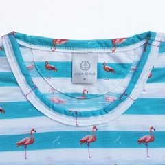 Camiseta Estampada - Praia dos Flamingos na internet