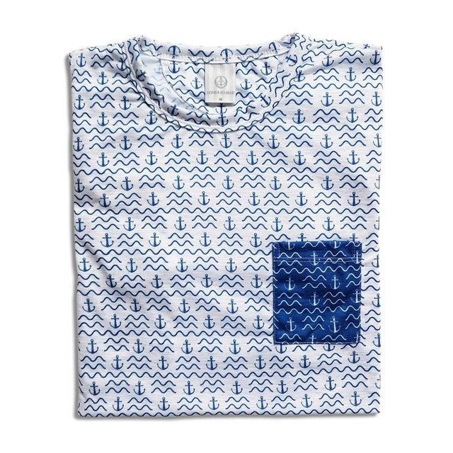 Camiseta Estampada - New Navy - comprar online
