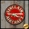#116 - Cuadro Decorativo Vintage Retro / Sinclair Air Craft ! - comprar online