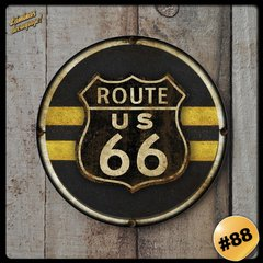 #88 - Cuadro Decorativo Vintage Retro / Route 66 !
