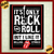 #09 - Cuadro Vintage 30 X 40 cm / The Rolling Stones - It's Only Rock 'N' Roll!