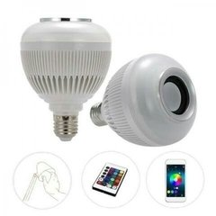 Lampada Led Music Bulb Party Ball Som Bluetooth com Controle na internet