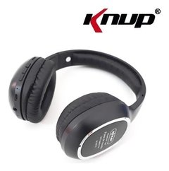 Headset Bluetooth Knup Aux Sd Mp3 Fm Kp-439  Preto - comprar online