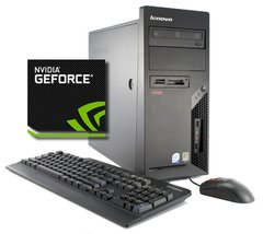 Computador  Lenovo / Dual Core e2140 / GeForce 7300 GS / 2gb Ram / HD 80gb
