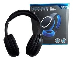 Headset Bluetooth Knup Aux Sd Mp3 Fm Kp-439  Preto - AtecBox
