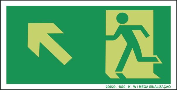 c8fb075d70c Placa de Perigo Maquina Em Movimento - Placasshop