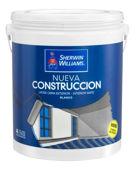 Latex Int/Ext Mate Sherwin Williams 10 Lts