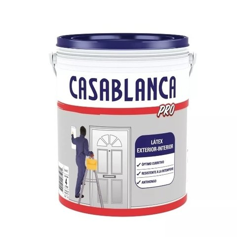 Pintura Latex Casablanca Pro Int/Ext 20 Lts