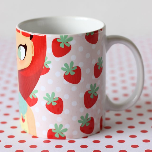 Taza - Strawberry Girl - comprar online