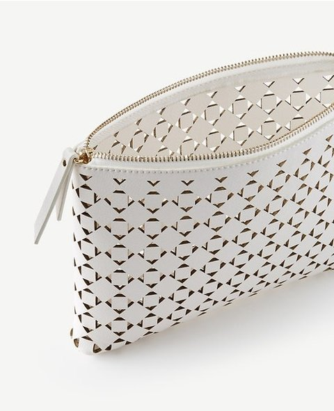 Signature Laser Cut Pouch on internet