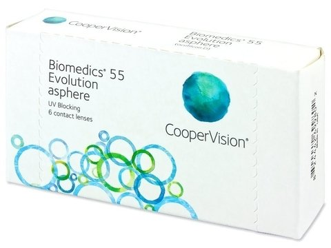 BIOMEDICS 55 EVOLUTION - LENTES DE CONTA......