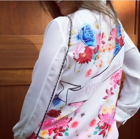 Blusa Crepe Forget