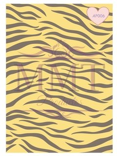 Animal Print Tigre Amarillo
