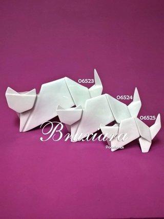 Gato Elaine Origami - Segunda Linha