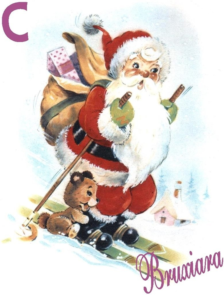 55188c Papai Noel Comprar Em Bruxiara Porcelanas