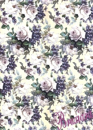 70017(L) Tapete Floral