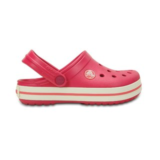 CROCS BAND KIDS RASPBERRY/WHITE