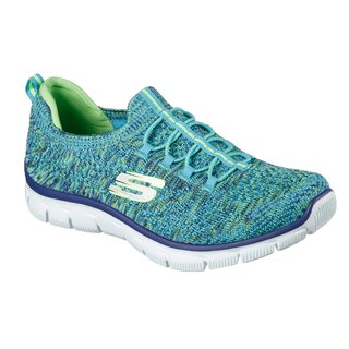 SKECHERS EMPIRE SHARP BLUE/LIME