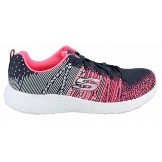 SKECHERS BURST ELLIPSE CHARCOAL PINK