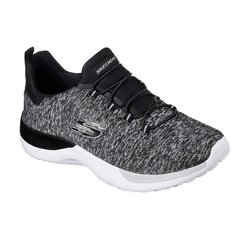 SKECHERS DYNAMIGHT BREAK GRIS/BCO