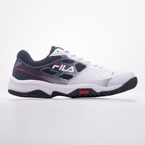 FILA TOP SPIN 2.0 BCO/MAR/RJO