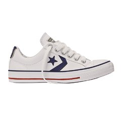 CONVERSE STAR PLAYER OX LTHR WHITE