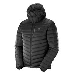 SALOMON HALO DOWN JACKET M NEGRO