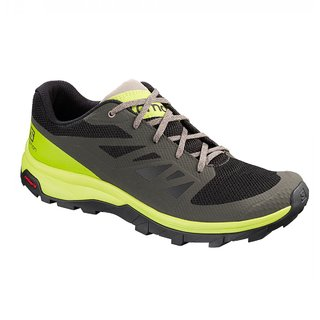 SALOMON OUTLINE NEGRO/LIMA