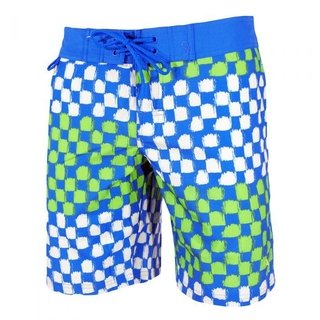 PUMA SHORT BAÑO FUN CHECK AZ/VDE